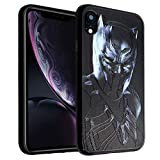 iPhone XR Case Black Panther, IMAGITOUCH Anti-Scratch Shock Proof Case Soft Touch Slim Fit Flexible TPU Case Bumper Cover for iPhone XR- Black Panther Bumper