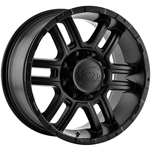 Ion Alloy 179 Matte Black Wheel (17x8