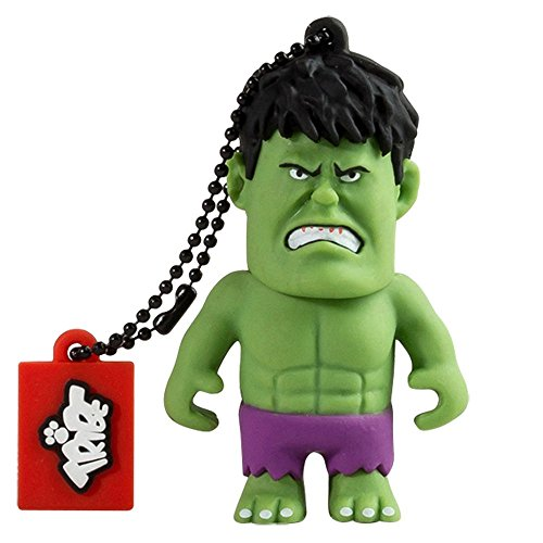Tribe Marvel The Avengers Pendrive Figure 16GB USB Flash Drive 2.0 Memory Stick Data Storage - Hulk (FD016502)