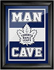 Toronto Maple Leafs 12x16 Man Cave Framed Artwork