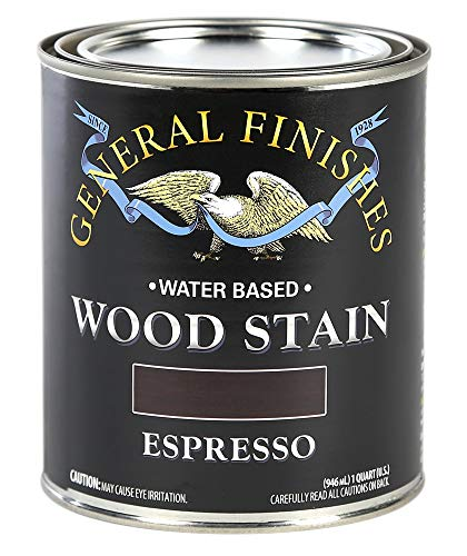 General Finishes WXQT Water Based Wood Stain, 1 Quart, Espresso (Paint Sprayer For Home Use In India)