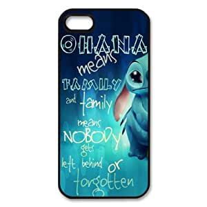 Ohana Hard Shell Case for iPhone 4/4g/4s 5/5s (Available in Black & White Color) by mcsharks