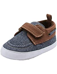 Baby Boys Soft Infant Boat Shoe Style Loafer (See More Colors and Sizes)