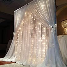 FEFELightup LED Curtain Lights - Warm White