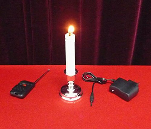Remote Control Candle by J.C Magic - Magic Trick, Stage Magic, Mentalism
