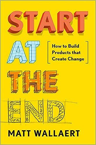 Cover of Start at the End book by Matt Wallaert