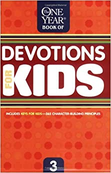 Book One Year Book of Devotions for Kids #3