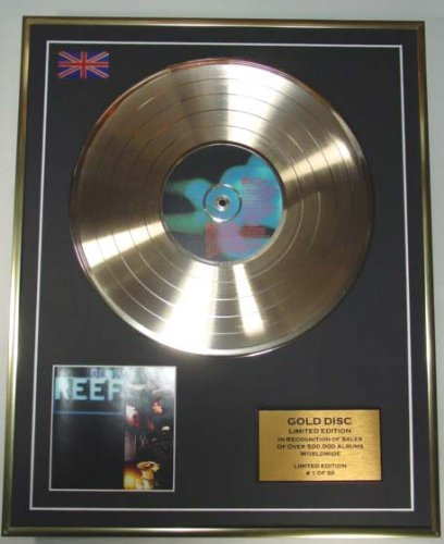 - EC REEF/Cd Gold Disc Record Limited Edition/GLOW