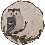 Ganz Owl Stepping Stone, Cement