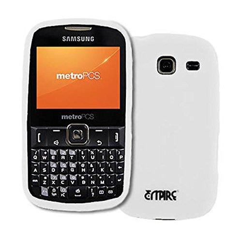 EMPIRE White Silikon-Gel-Hülle Tasche für MetroPCS Samsung Freefürm III