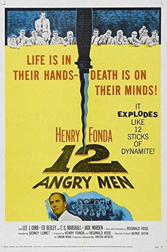 Twelve Angry Men Poster Movie Z 11x17 Henry Fonda Martin Balsam Lee J. Cobb E.G. Marshall