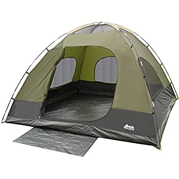 Amazon Com Coleman Instant Dome 5 Person Tent With