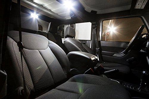 Precision Led Jeep Wrangler Jk Led Interior Lighting Kit With License Plate Led 39 S Install