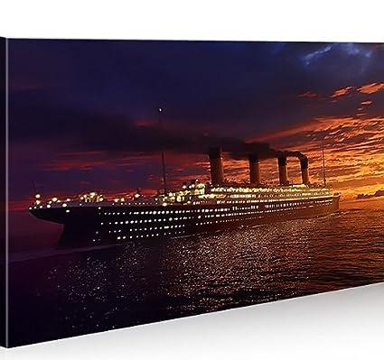 Cuadro en Lienzo Titanic 1p Titanik Impresión sobre lienzo ...