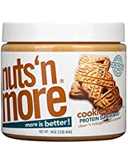 Nuts 'N More Cookie Butter Peanut Butter Spread 16oz High Protein Gluten-Free