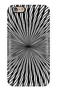 AlikonAdama Scratch-free Phone Cases For Iphone 6- Retail Packaging - Psychedelic Moving