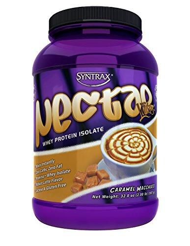 Syntrax, Nectar Lattes, Caramel Macchiato, 2 Pound by Syntrax