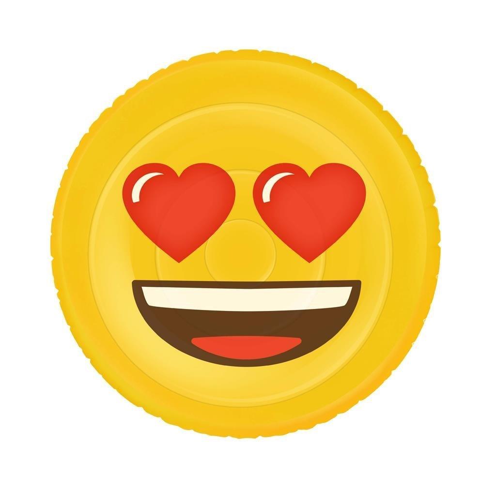 Emoji inflable corazon