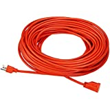AmazonBasics 16/3 Vinyl Outdoor Extension Cord - 100 Feet (Orange)