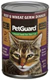Pet Guard Beef and Wheat Germ Food for Cats, 14-Ounce Cans (Pack of 12), My Pet Supplies