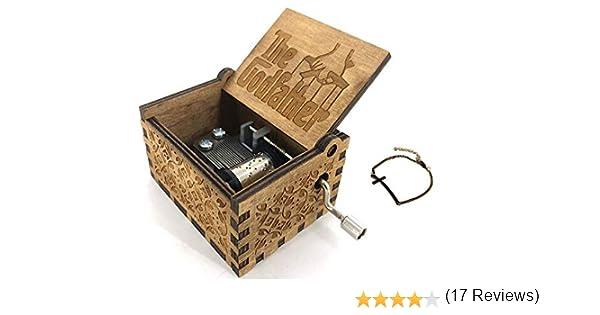 Cuzit The Godfather - Caja Musical de Madera para manivela: Amazon ...