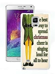 Niche market Phone Case Merry Christmas White Samsung Galaxy Note 4 Case 31