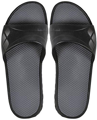 Arena watergrip W, Pantoffeln Pool Unisex Erwachsene, unisex - erwachsene Black/Dark Grey