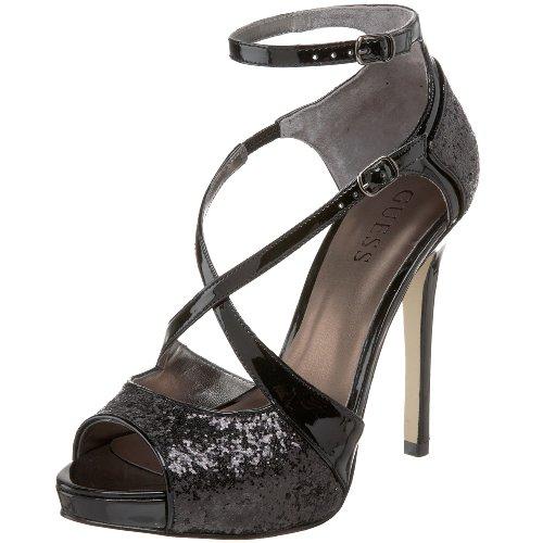 GUESS Womens Tailgate Platform Sandal