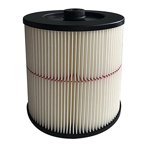 VACFIT Filter for Shop VAC & Craftsman 17816 9-17816 Replacement Cartridge Filter for Craftsman Wet Dry VAC 5 and Larger Gallon Vacuum Cleaner Accessories 1 Pack by VACFIT (Image #2)