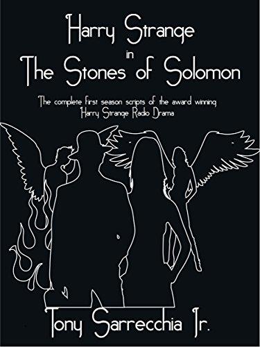 Harry Strange in The Stones of Solomon por Tony Sarrecchia