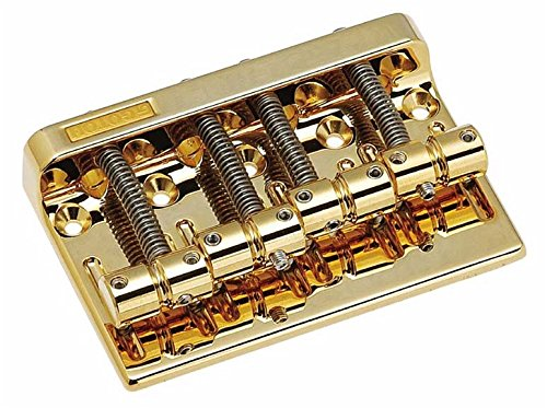 Gotoh Bass Bridge Gold w/Screws 2-1/4
