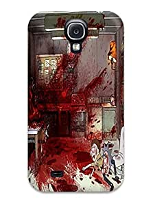 High Impact Dirt/shock Proof Case Cover For Galaxy S4 (rick And Morty )