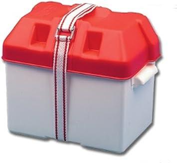 Blanco caja de la batería 270x190x200: Amazon.es: Deportes y aire libre