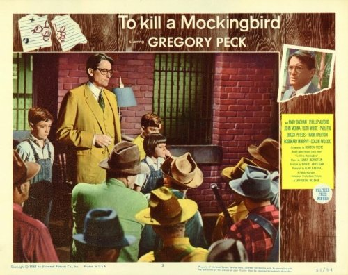 To Kill a Mockingbird Poster Movie E Gregory Peck Brock Peters Phillip Alford Mary