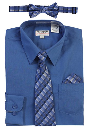 4t royal blue dress shirt - 9