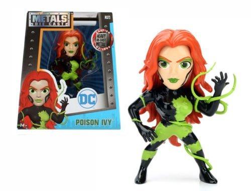 NEW JADA 4 METALS DC COMICS POISON IVY M373 Die-Cast 4 Metal DieCast Action Figures By Jada Toys