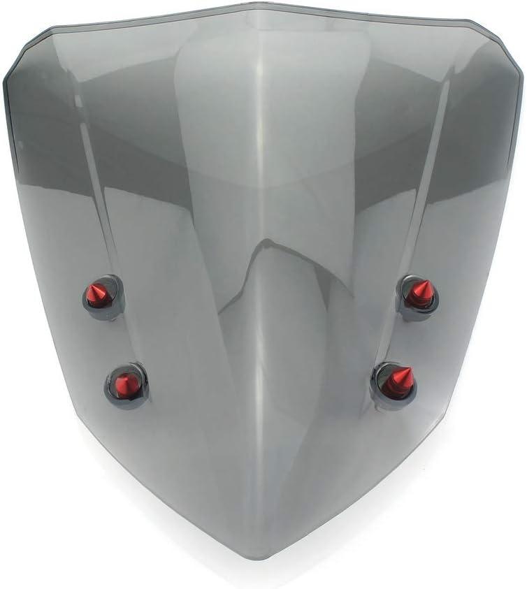QIDIAN Windshield For Yamaha NVX155 2017 2018 Aerox 155 2018 2017 NVX 155 Aerox155 Windscreen Air Deflector Scooter AEROX 155 NVX 155