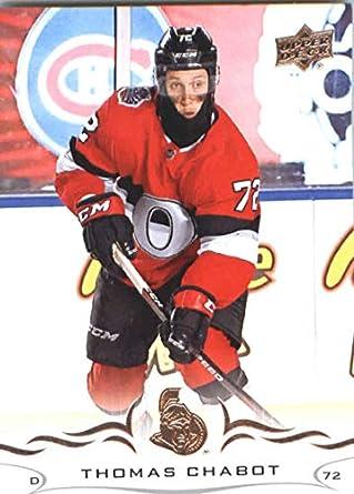 c1f7181cd04 Amazon.com: Hockey NHL 2018-19 Upper Deck #126 Thomas Chabot ...