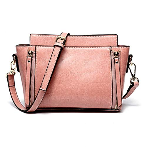 Pink colore S Da Rxf Brown Borsa A Tracolla Shopping Donna Per Dimensioni PPqwF7nf