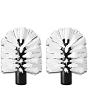 Replacement Brushes for The Brush Hero System, Pair (White/White)
