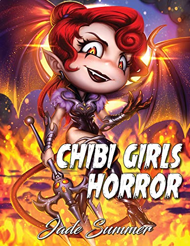 Pdf Crafts Chibi Girls Horror: An Adult Coloring Book with Adorable Anime Characters and Cute Horror Scenes for Relaxation