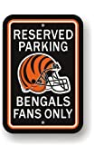NFL Cincinnati Bengals Plastic Parking Sign