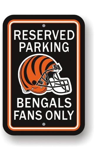 Fremont Die NFL Cincinnati Bengals Plastic Parking Sign ()