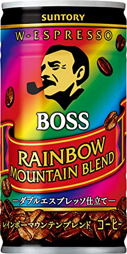 Suntory coffee Boss Rainbow Mountain blend 185g ~ 30 this