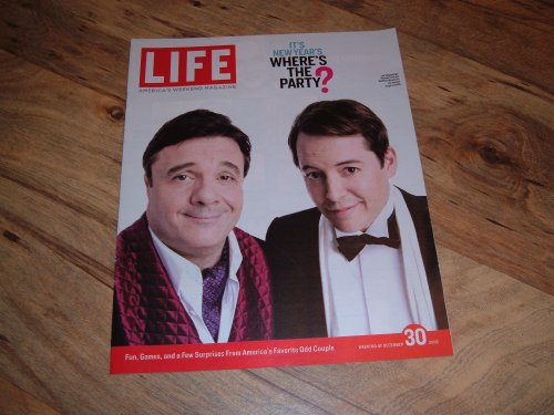 Life Magazine-December 30, 2005 issue-Nathan Lane & Matthew Broderick-The Producers.