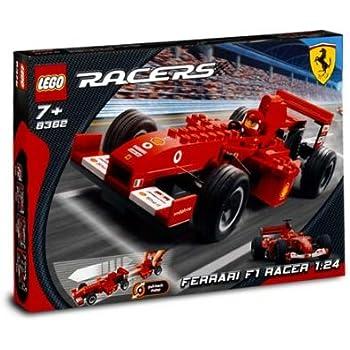 lego racers ferrari set 8389 michael. Black Bedroom Furniture Sets. Home Design Ideas
