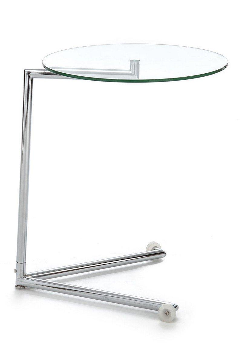 Wink design , Houston, tavolino da caffè con ruote metallo cromato ...