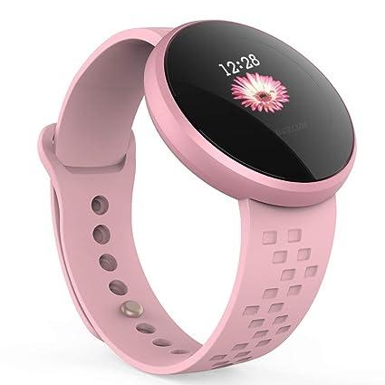 Reloj inteligente para mujer, ligero reloj inteligente para mujer, monitor de sueño de fitness