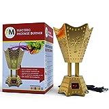 Electric Incense Bakhoor Burner Gold, 110V by Attar Mist