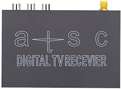 SODIAL(R) ATSC NTSC Rapida Decodificacion Movil Coche Digital TV Caja Sintonizador de TV Analogica Varia Canal Fuerte de Senal del Receptor para Coche-uso Casa-uso: Amazon.es: Juguetes y juegos